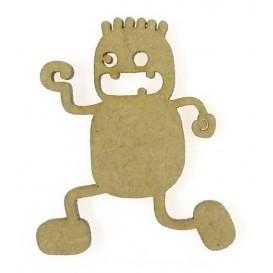 sujet en bois kid cartoon court