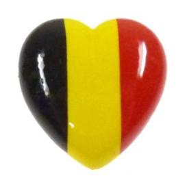 bouton déco coeur belge 22mm