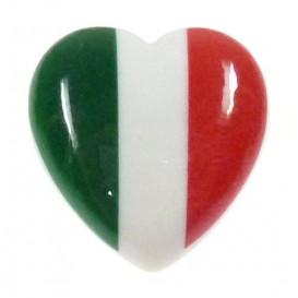 bouton déco coeur italien 22mm