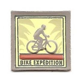 écusson étiquette bike expédition à coudre