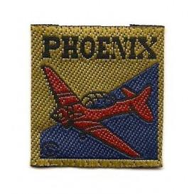 écusson avion phoenix à coudre