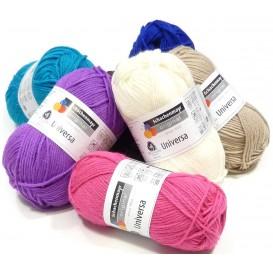pelote de fil à tricoter schachenmayr universa (22 coloris)