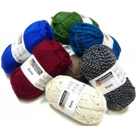 pelote à tricoter bravo