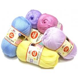 pelote de fil à tricoter everyday bébé (15 coloris)