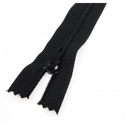 fermeture éclair prestil pantalon noir