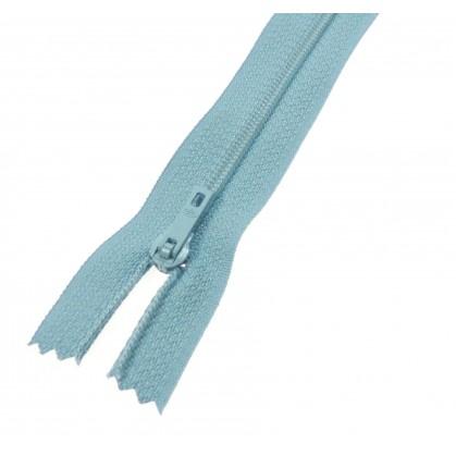 fermeture éclair prestil pantalon bleu ciel