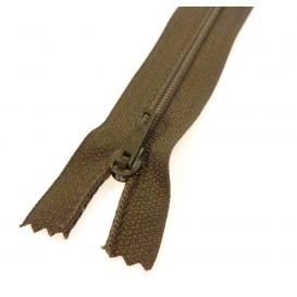 fermeture éclair prestil pantalon brun