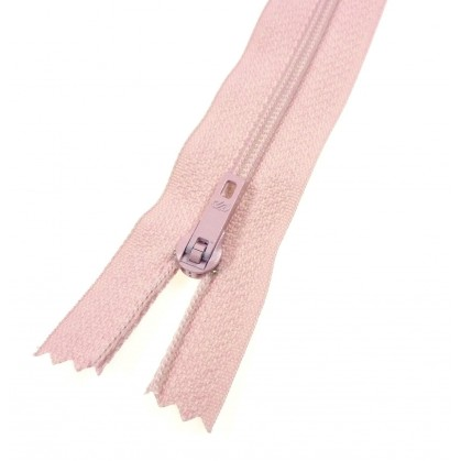 fermeture éclair prestil pantalon rose