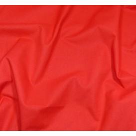 coupon 3m coton à drap cotoval uni rouge