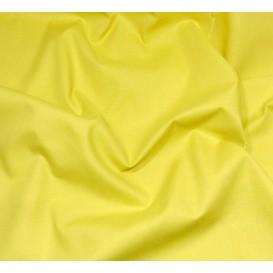 coupon 1m coton à drap cotoval uni moutarde
