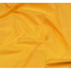 coupon 3m coton à drap cotoval uni jaune