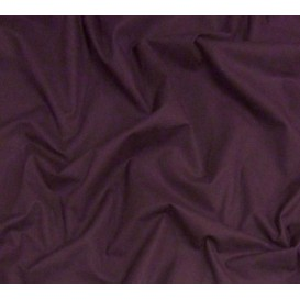 coupon 0,60m coton à drap cotoval uni violet