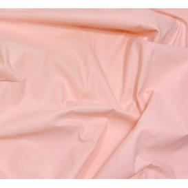 coupon 2,50m coton à drap cotoval uni rose