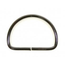 demi anneau métal 25mm tous usages