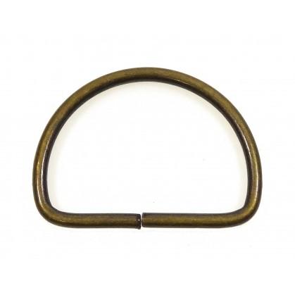 demi anneau métal 30mm tous usages