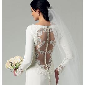 patron robe mariage Butterick B5779
