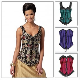 patron corsets ajustés Butterick B5662