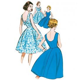 patron robe vintage 1960 Butterick B5748