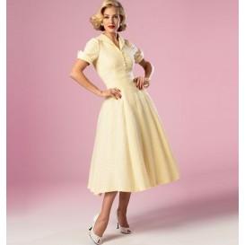 patron robe rétro 1952 Butterick B6018