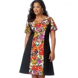 patron robe semi-ajustée Butterick B6186