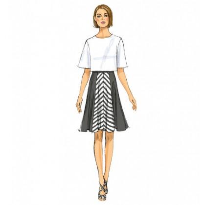 patron jupe et jupe-culotte Butterick B6179