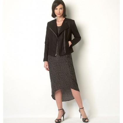 patron veste et robe Butterick B6169