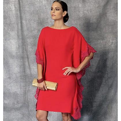 patron robe ample Vogue V1473