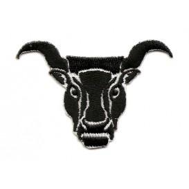 écusson tête de taureau thermocollant