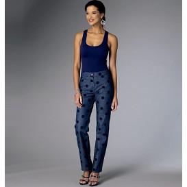 patron pantalon semi-ajusté Butterick B6327