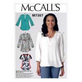 patron hauts amples McCall's M7357