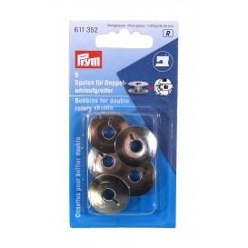 5 canettes métal pour boîtier double 21,9mm