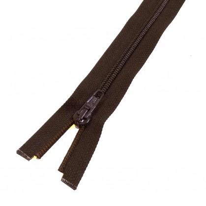 fermetures à glissières spirale 5 marron 40cm