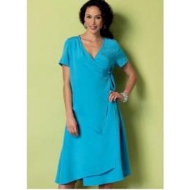 patron robe portefeuille Butterick B6359