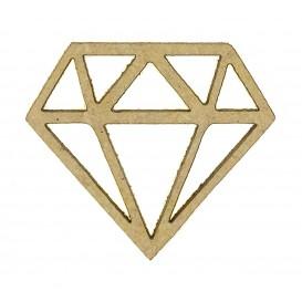 sujet en bois diamant
