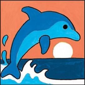 kit canevas margot dauphin gros trous
