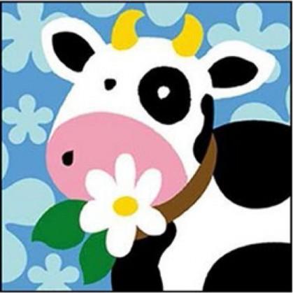 kit canevas margot vache gros trous