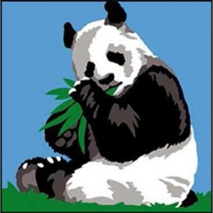kit canevas margot panda gros trous