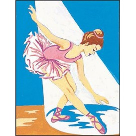 kit canevas margot danseuse