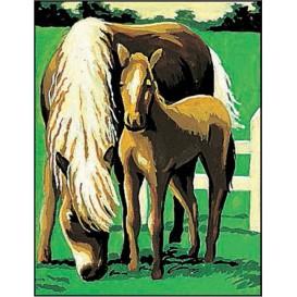 kit canevas margot chevaux