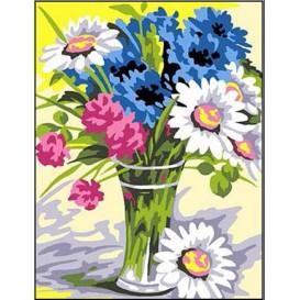 kit canevas margot bouquet champêtre