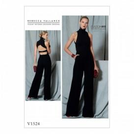 patron combinaison moulante Vogue V1524
