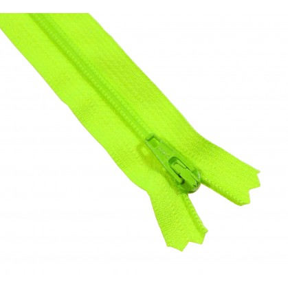 fermeture à glissière YKK polyester fluo