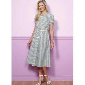 patron robe semi-ajustée Butterick B6450
