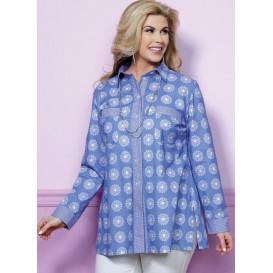 patron chemise très ample Butterick B6465