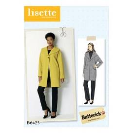 patron manteau très ample Butterick B6423