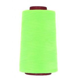 cône de fil à surfiler et à coudre vert fluo 5000yards