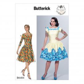 patron robe moulante Butterick B6484