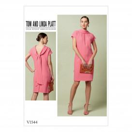 patron robe ajustée Vogue V1544
