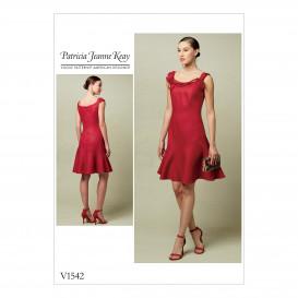 patron robe ajustée Vogue V1542