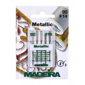 aiguilles à broder machine Madeira Metallic
